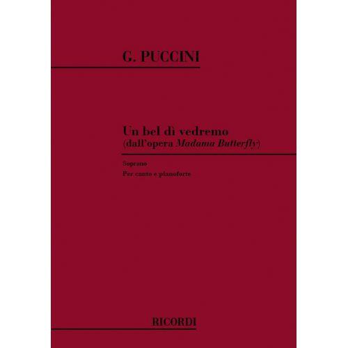 RICORDI PUCCINI G. - UN BEL DI' VEDREMO - CHANT ET PIANO