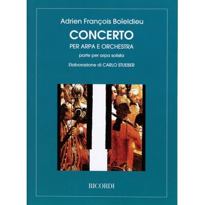 RICORDI BOIELDIEU F.A. - CONCERTO - ARPA E ORCHESTRA
