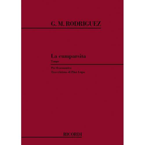 RICORDI MATOS RODRIGUEZ G. - CUMPARSITA - ACCORDEON