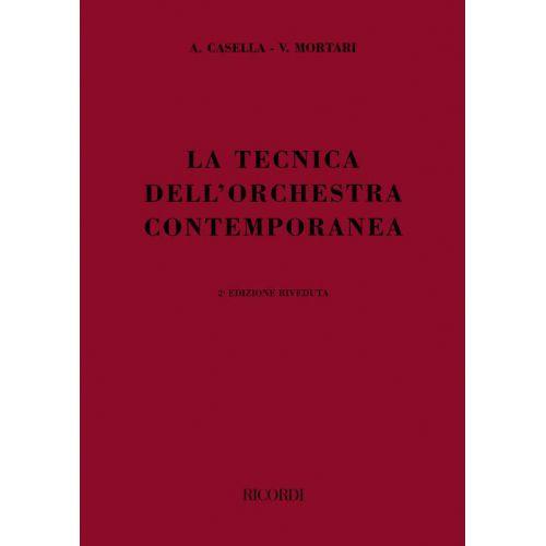RICORDI LA TECNICA DELL' ORCHESTRA CONTEMPORANEA