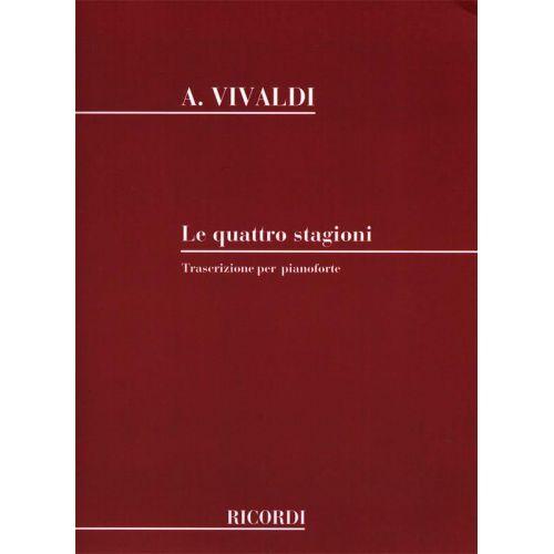 RICORDI VIVALDI A. - CONCERO DELLE RACCOLTE - PIANO