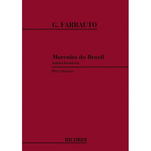 RICORDI FARRAUTO G. - MORENITA DO BRAZIL - SAMBA BRAZILEIRA - 2 GUITARES