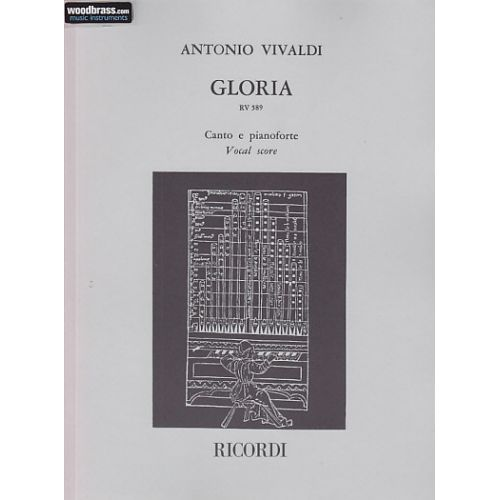 RICORDI VIVALDI ANTONIO - GLORIA - CHANT / PIANO