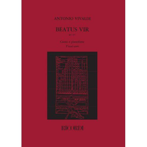 RICORDI VIVALDI A. - BEATUS VIR. SALMO 111, RV 597 - CHOEUR