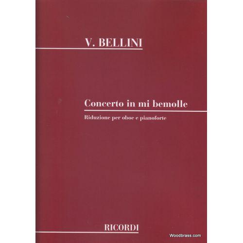 RICORDI BELLINI V. - CONCERTO IN MI BEMOLLE 6 HAUBOIS ET CORDES