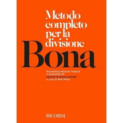 RICORDI BONA PASQUALE - METODO COMPLETO PER LA DIVISIONE