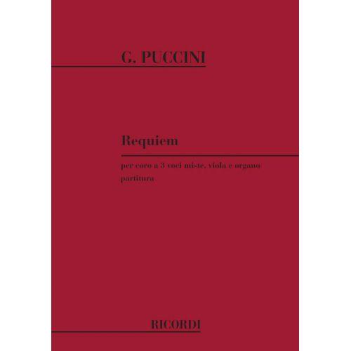 RICORDI PUCCINI G. - REQUIEM - CHOEUR