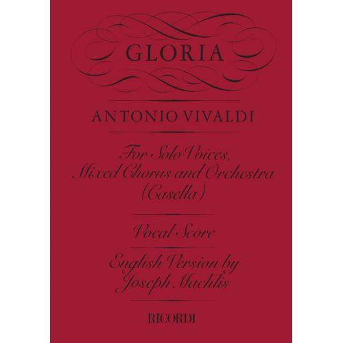 RICORDI VIVALDI A. - GLORIA RV 589 - CHOEUR