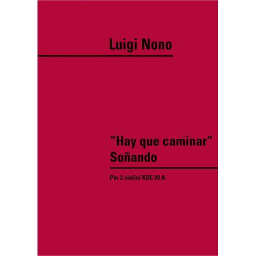 RICORDI NONO L. - HAY QUE CAMINAR' SONANDO KOE 20A - VIOLON