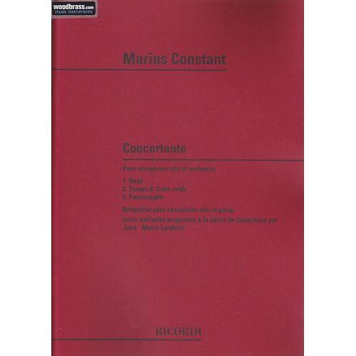 RICORDI CONSTANT M. - CONCERTANTE - SAXOPHONE ET PIANO