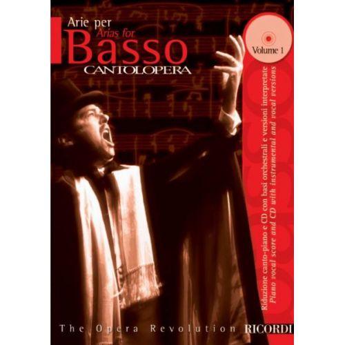 RICORDI CANTOLOPERA: ARIE PER BASSO + CD