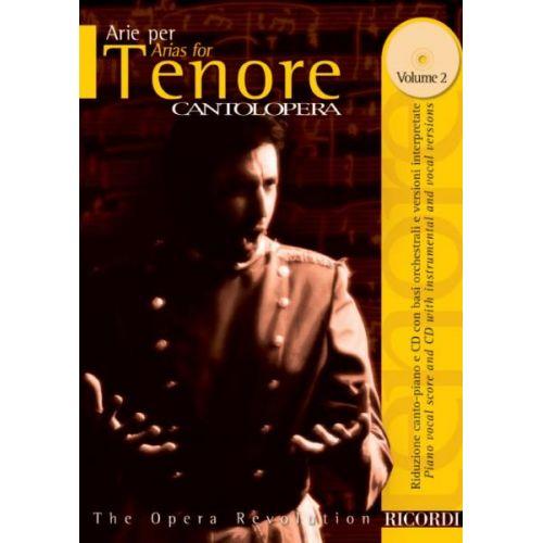 RICORDI CANTOLOPERA: ARIE PER TENORE, VOL. 2 + CD