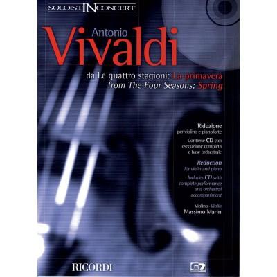 RICORDI VIVALDI A. - SOLOIST IN CONCERT LA PRIMAVERA (DA LE QUATTRO STAGIONI)