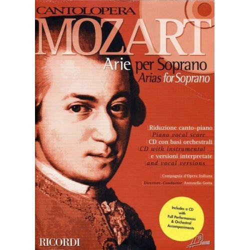 RICORDI CANTOLOPERA - MOZART - ARIE PER SOPRANO + CD
