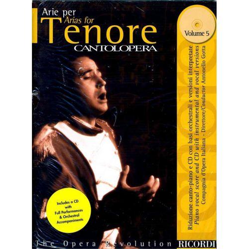 RICORDI CANTOLOPERA: ARIE PER TENORE + CD