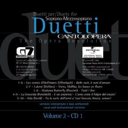 RICORDI CANTOLOPERA: ARIE PER DUETTI + CD VOL.2 - VOIX SOPRANO