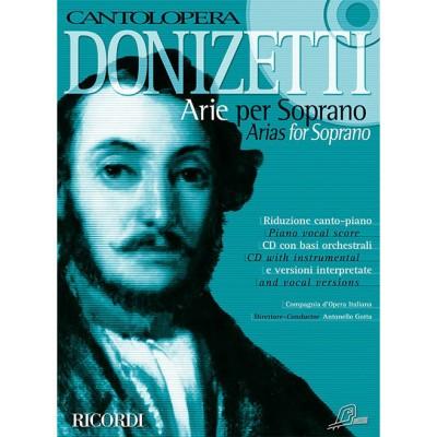RICORDI DONIZETTI G. - CANTOLOPERA: ARIE PER SOPRANO + CD