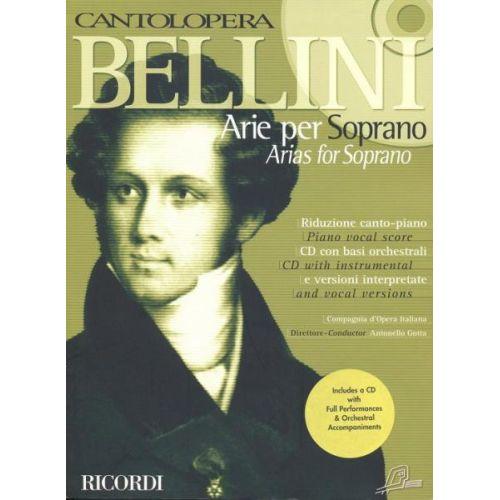 RICORDI BELLINI V. - CANTOLOPERA: ARIE PER SOPRANO + CD