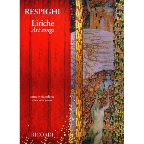RICORDI RESPIGHI O. - LIRICHE - ART SONGS - CHANT ET PIANO