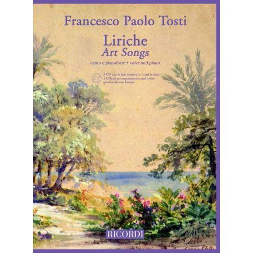 RICORDI TOSTI F.P. - ART SONG SERIES: ROMANZE - SONGS - CHANT ET PIANO