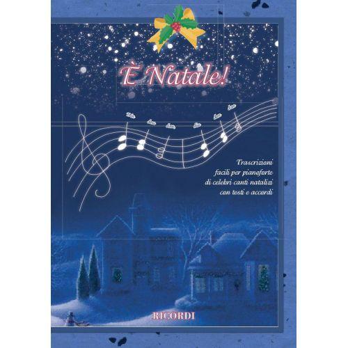 RICORDI E' NATALE - PIANO
