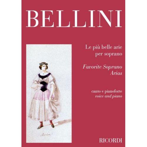 RICORDI BELLINI V. - LE PIU' BELLE ARIE PER SOPRANO