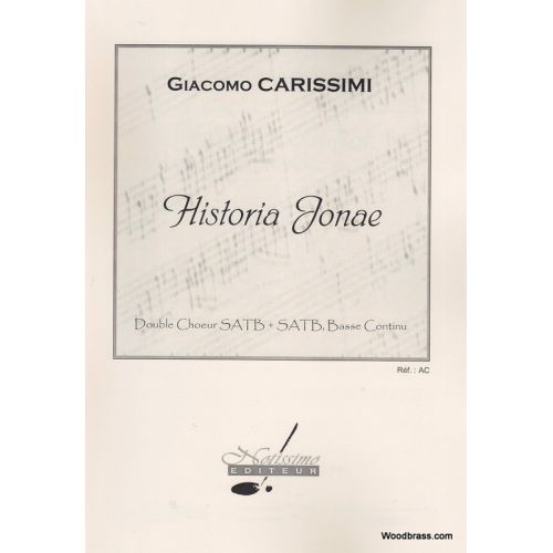 LEDUC CARISSIMI G. - HISTORIA JONAE - CONDUCTEUR