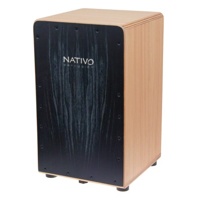 NATIVO PERCUSSION CAJON INICIA BLACK