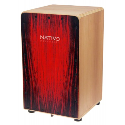 NATIVO PERCUSSION CAJON INICIA RED