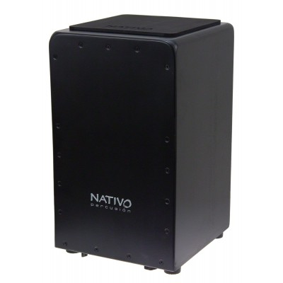 NATIVO PERCUSSION CAJON STUDIO BLACK