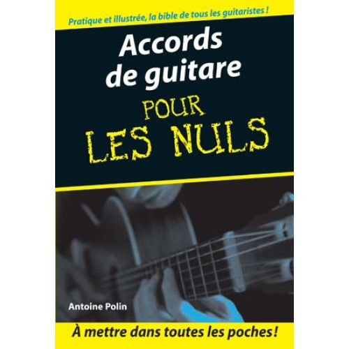 FIRST INTERACTIVE POUR LES NULS ACCORDS GUITARE FORMAT POCHE