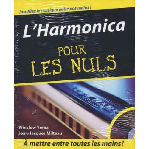 FIRST INTERACTIVE YERXA/MILTEAU - HARMONICA POUR LES NULS + CD
