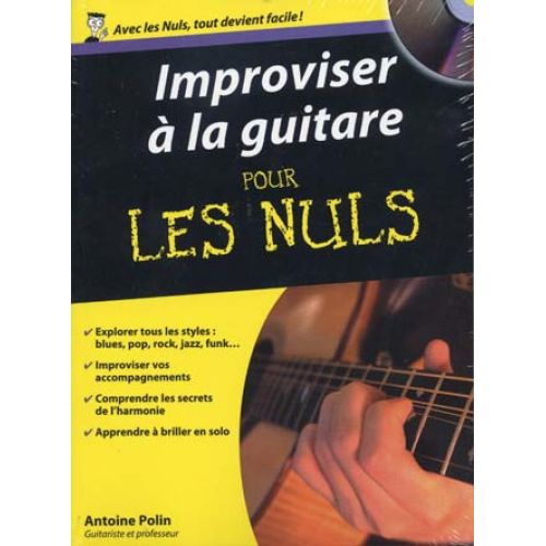 FIRST INTERACTIVE POLIN A. - POUR LES NULS IMPROVISER A LA GUITARE + CD