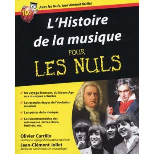 FIRST INTERACTIVE HISTOIRE DE LA MUSIQUE POUR LES NULS