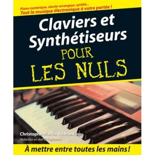 FIRST INTERACTIVE POUR LES NULS MÉTHODE - CLAVIERS ET SYNTHETISEURS + CD - CHRISTOPHE MARTIN DE MONTAGU