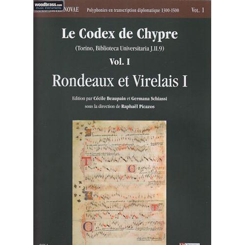 UT ORPHEUS LE CODEX DE CHYPRE VOL. 1 (RONDEAUX ET VIRELAIS)