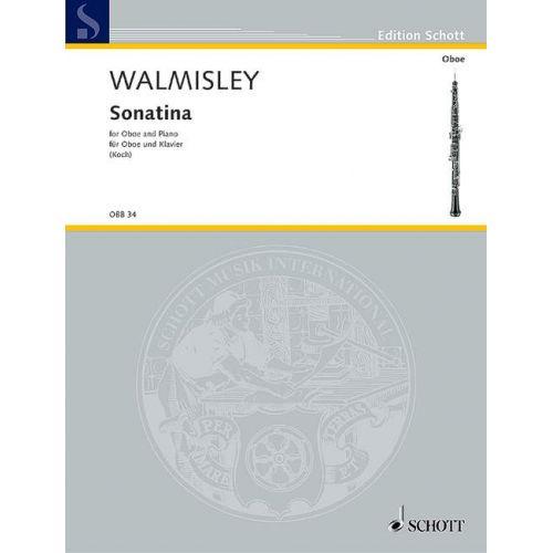 SCHOTT WALMISLEY THOMAS ATTWOOD - SONATINA - OBOE AND PIANO