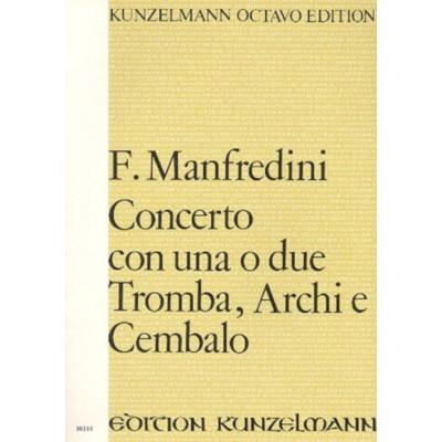 KUNZELMANN MANFREDINI F. - CONCERTO 1/2 TRP - CONDUCTEUR