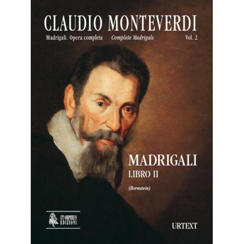 UT ORPHEUS MONTEVERDI CLAUDIO - MADRIGALI, LIBRO II (VENEZIA 1590) - CHOEUR SSATB