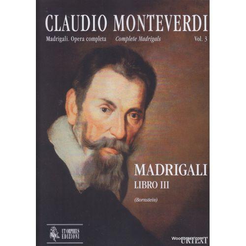 UT ORPHEUS MONTEVERDI C. - MADRIGALI LIBRO III - CONDUCTEUR