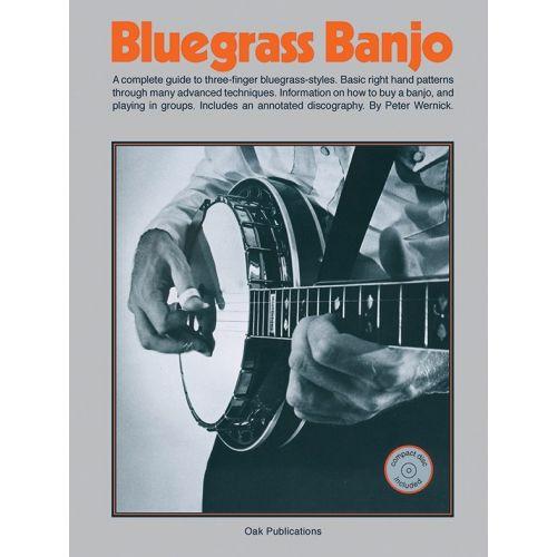 MUSIC SALES BLUEGRASS BANJO + CD - GUITAR TAB
