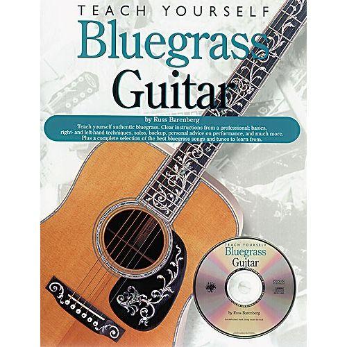 MUSIC SALES RUSS BARENBERG - TEACH YOURSELF BLUEGRASS GUITAR - GUITAR