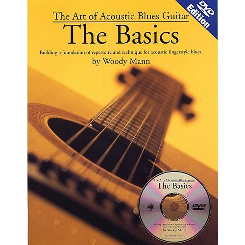 MUSIC SALES THE ART OF ACOUSTIC BLUES GUITAR THE BASICS + DVD - GUITAR