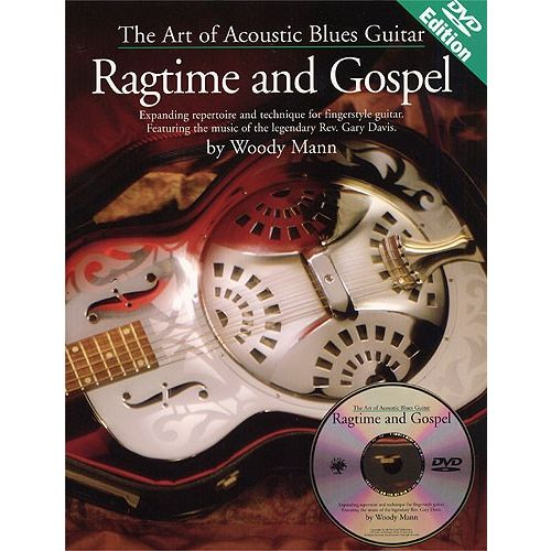 MUSIC SALES THE ART OF ACOUSTIC BLUES GUITAR RAGTIME AND GOSPEL + DVD - GUITAR