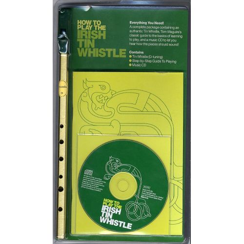 MUSIC SALES TOM MAGUIRE - HOW TO PLAY THE IRISH TINWHISTLE BOOK/INST/CD - PENNYWHISTLE