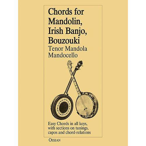 MUSIC SALES LOESBERG JOHN - CHORDS FOR MANDOLIN, IRISH BANGO, BOUZOUKI - MANDOLIN