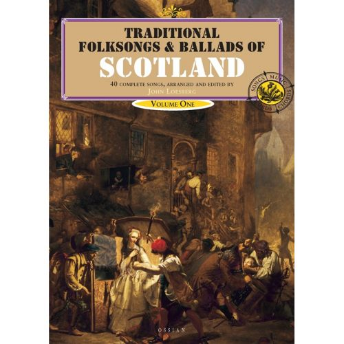 MUSIC SALES TRADITIONAL FOLKSONGS AND BALLADS OF SCOTLAND VOL 1 BOOK