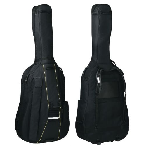 GEWA 4/4 TURTLE DOUBLE BASS BAG MODEL BS 25