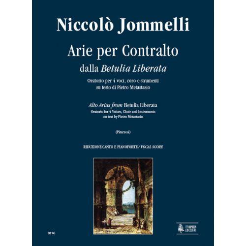 UT ORPHEUS JOMMELLI NICCOLO - BETULIA LIBERATA, ARIAS FOR ALTO