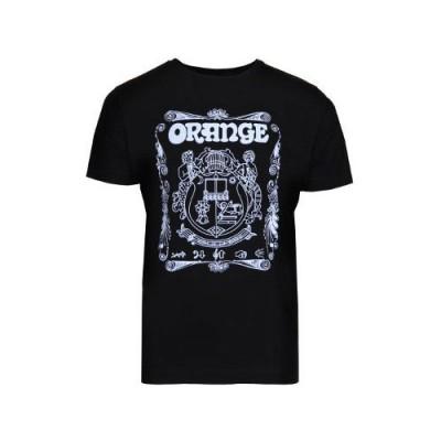 ORANGE AMPS T-SHIRT CREST XL BLACK